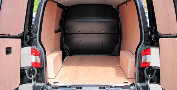 Preston van conversions vw t5 transporter volkswagen t6 t4 for Van ply lining templates