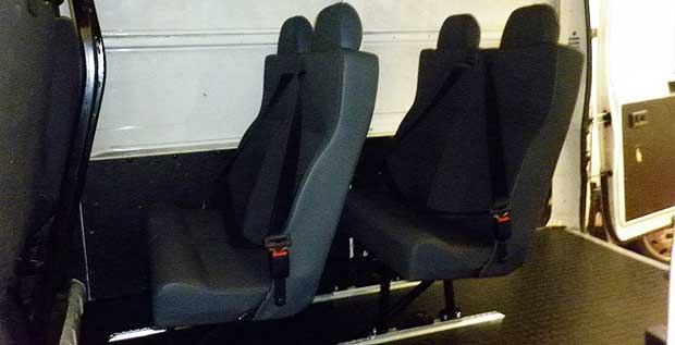 Van Seat Conversion