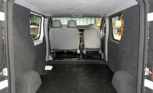 Van Interior Trimming and Carpet